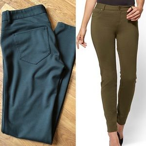 NY&Co Soho Ponte Olive Leggings